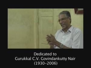 Shri C.V. Govinkutty Nair Gurukkal par Ian Mac Donald